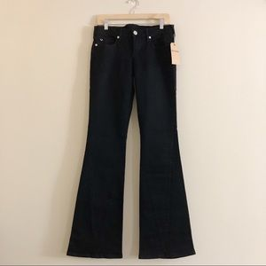 NWT True Religion Joey Low Rise Flare Jeans Sz 29